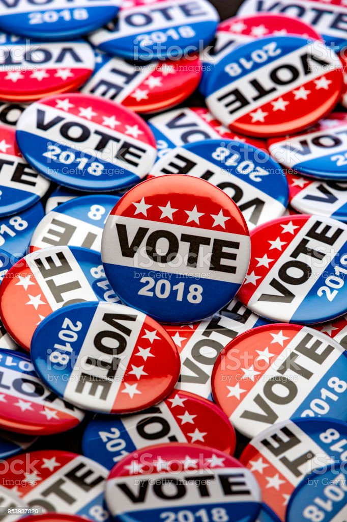 Get Out the Vote stock photo
