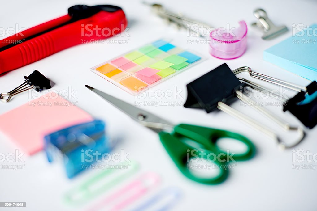 Get ready for creativity stock photo