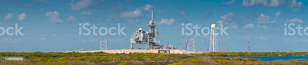Get ready for launch Cape Canaveral stock photo