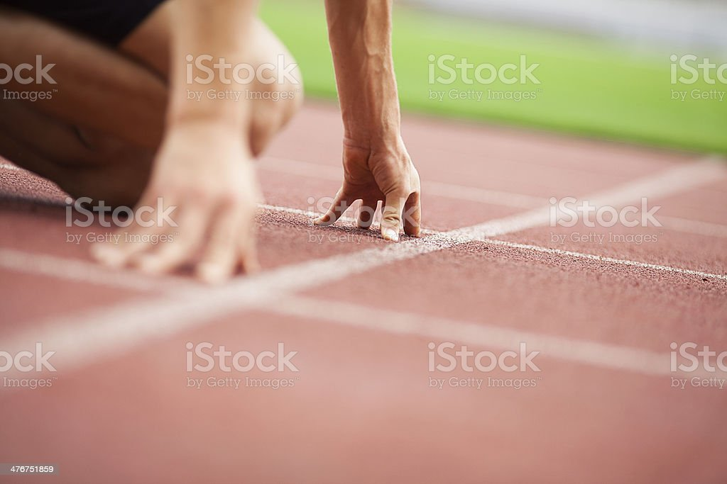 Get ready... stock photo