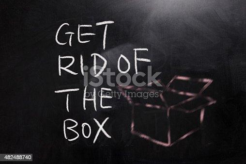 istock Get rid of the box 482488740
