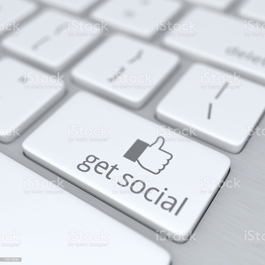 Get Social XL+ stock photo