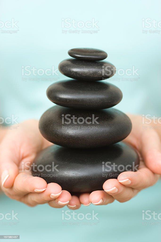 Get the balance royalty-free stock photo