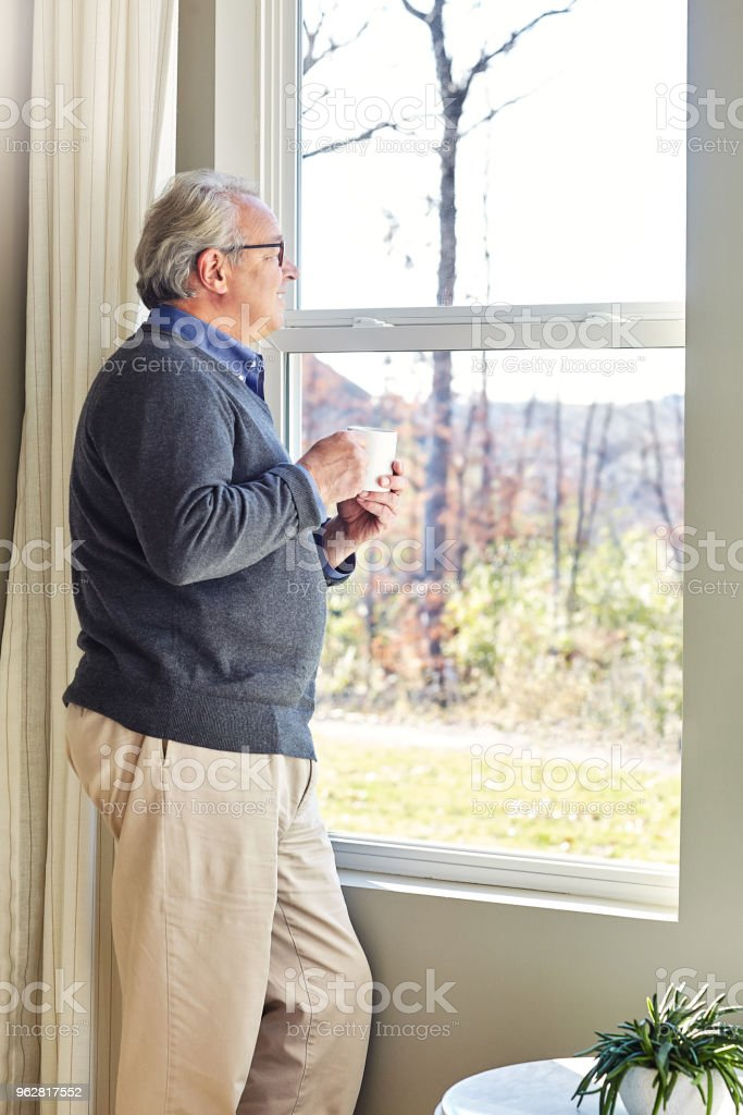 I get the best view here stock photo