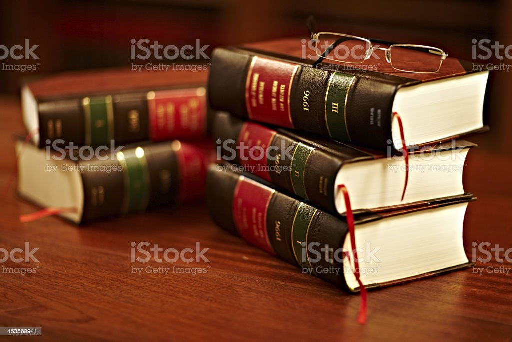 Get to know your rights - Royalty-free Book Stock Photo