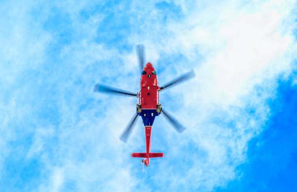 Get to the chopper stock photo