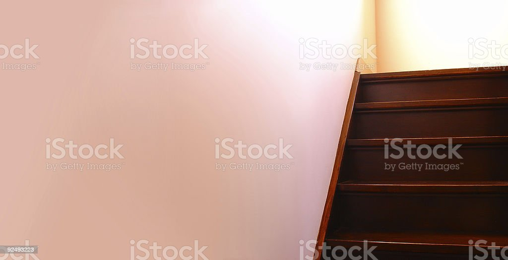 Get Upstairs II royalty-free stock photo