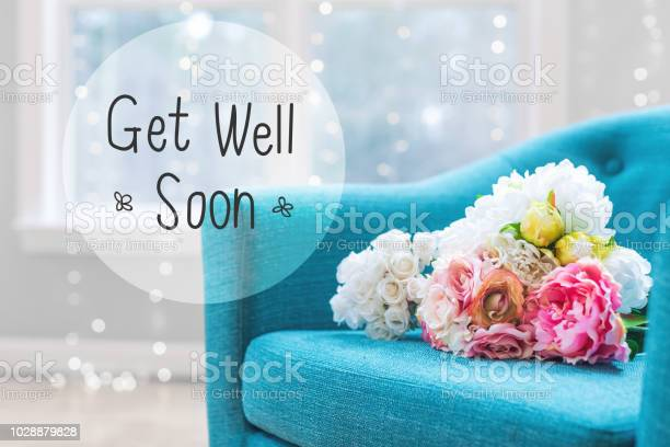 Get well message with flower bouquets with chair picture id1028879828?b=1&k=6&m=1028879828&s=612x612&h=snkxu8wvi0tw06boxcesofqh9if4bvooqtkio52cydc=