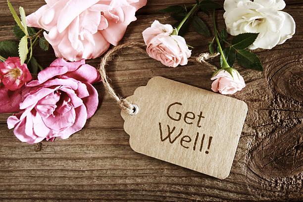 Obtenez un message avec roses - Photo