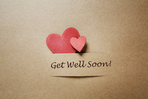 Get well soon stock photos
