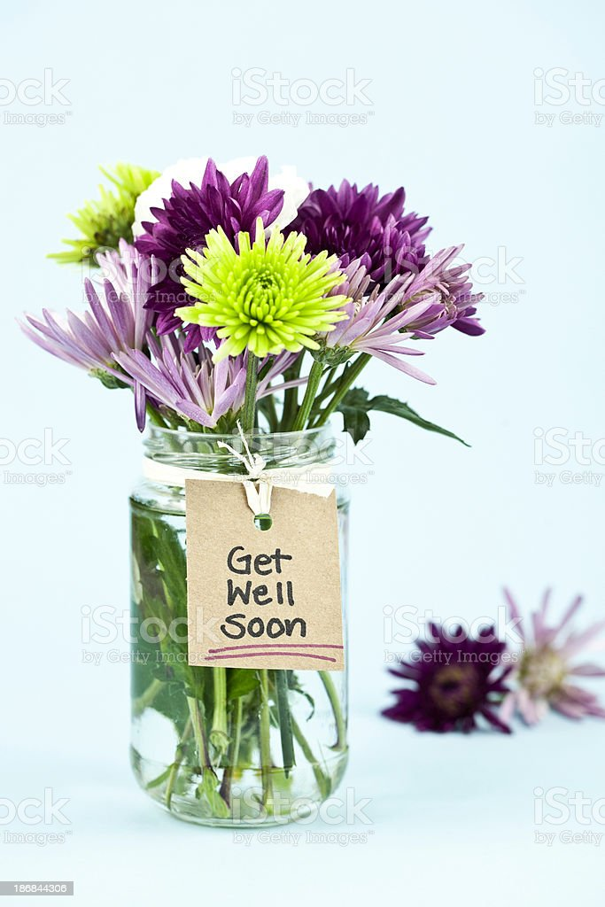 Get Well Soon stock photo