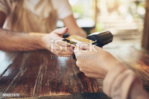 istock Get with the bank that works for you 869321370