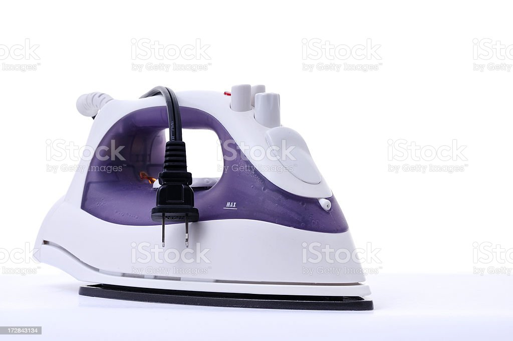 get your ironing done royalty-free stock photo