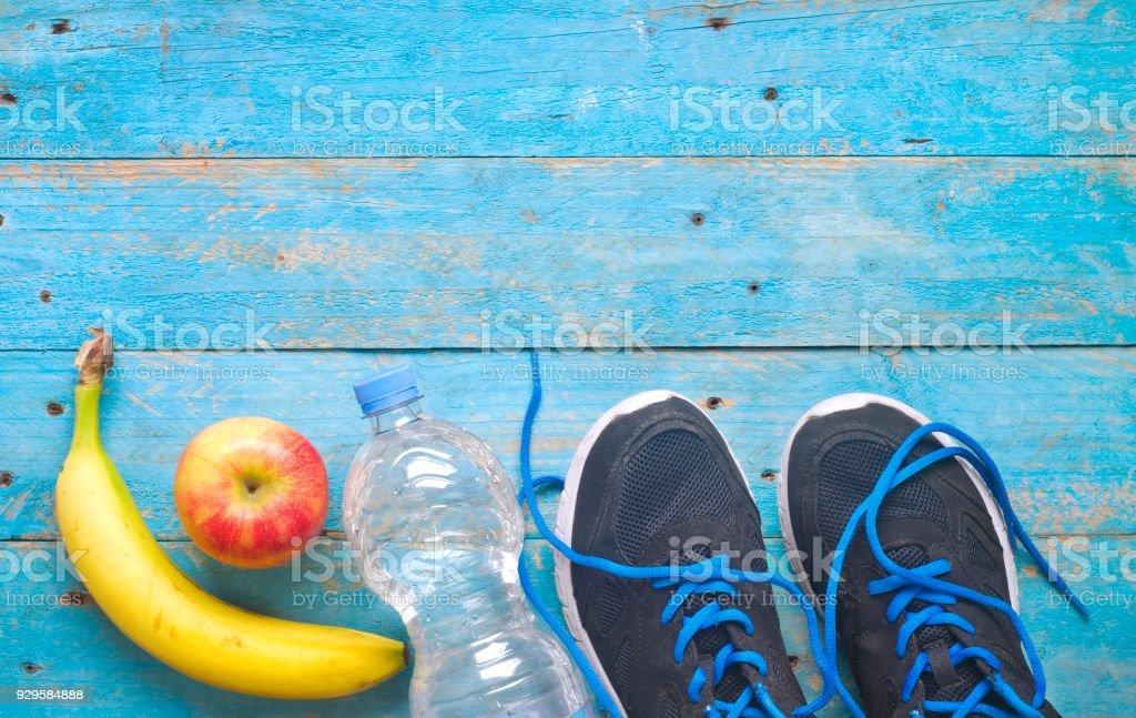 Getiing passen und Gewichtsreduzierung für den Frühling, Konzept, Freiexemplar Raum flach zu legen – Foto