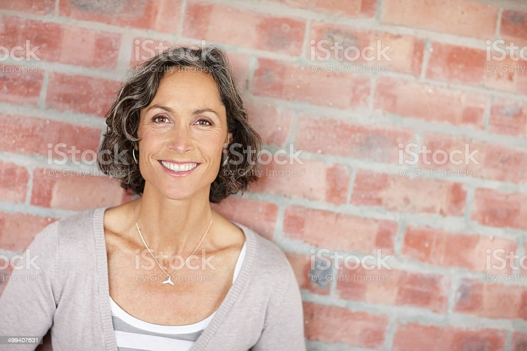 Geting some fresh air stock photo