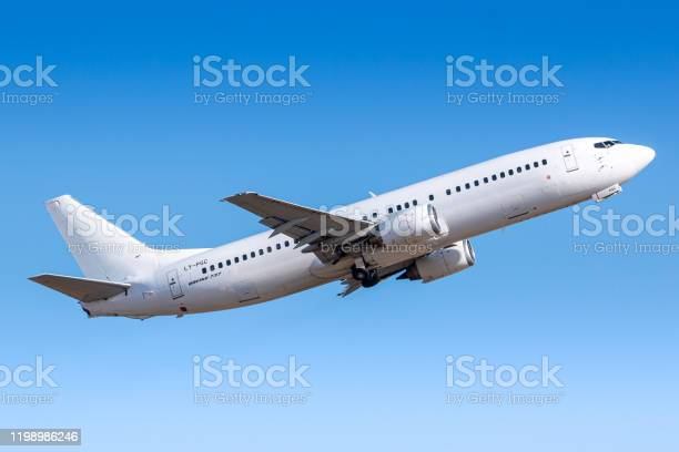 Getjet Boeing 737 Airplane At Paris Orly Stock Photo - Download Image Now