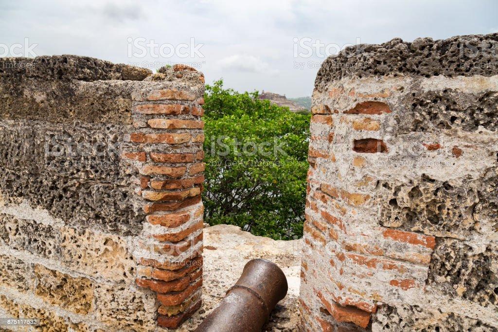 Getsemani Cannons stock photo
