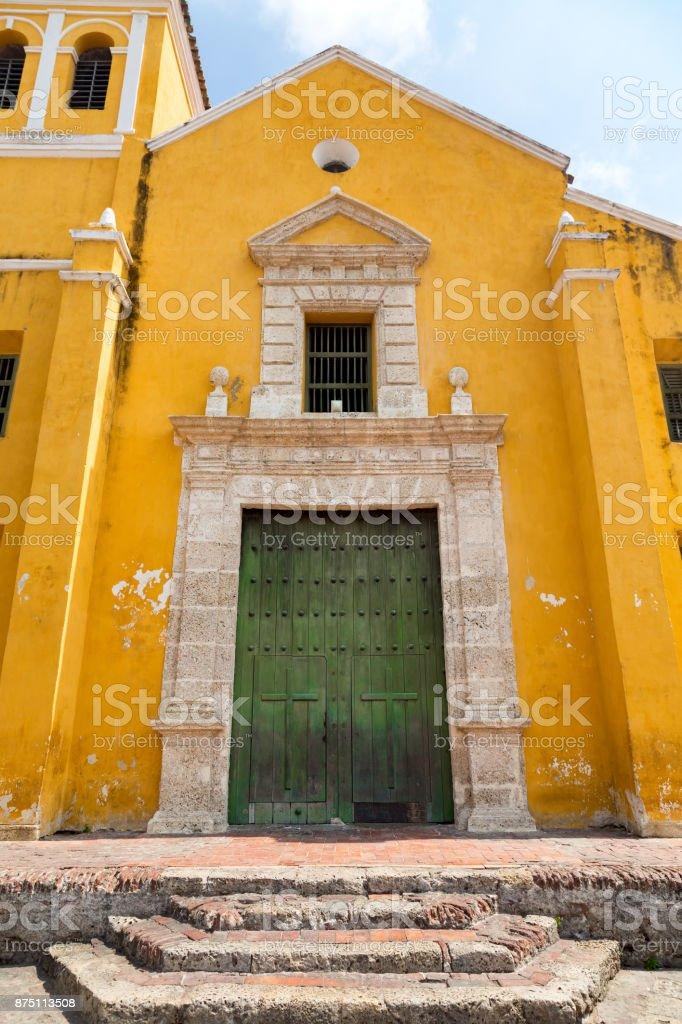 Getsemani Church Front Entrance stock photo