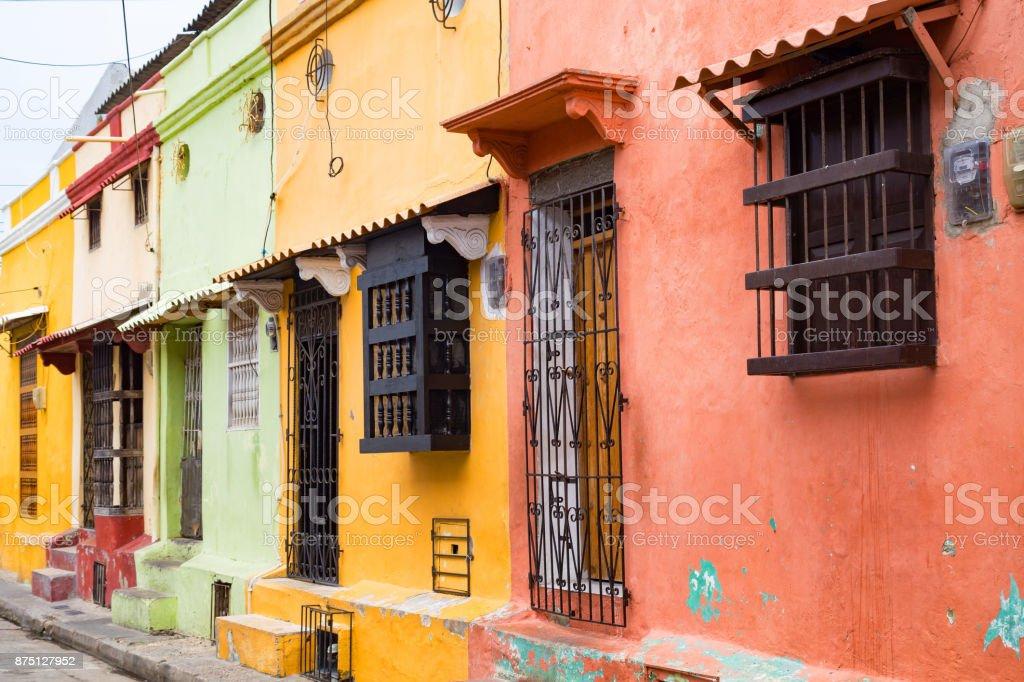 Getsemani Colorful Houses stock photo