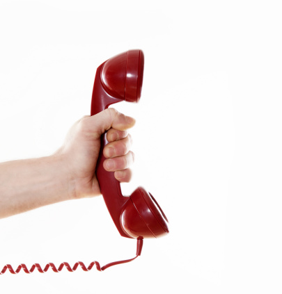 Getting A Call Stock Photo - Download Image Now