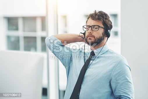 658516626 istock photo Getting a difficult call 5 minutes before home time 1022106412