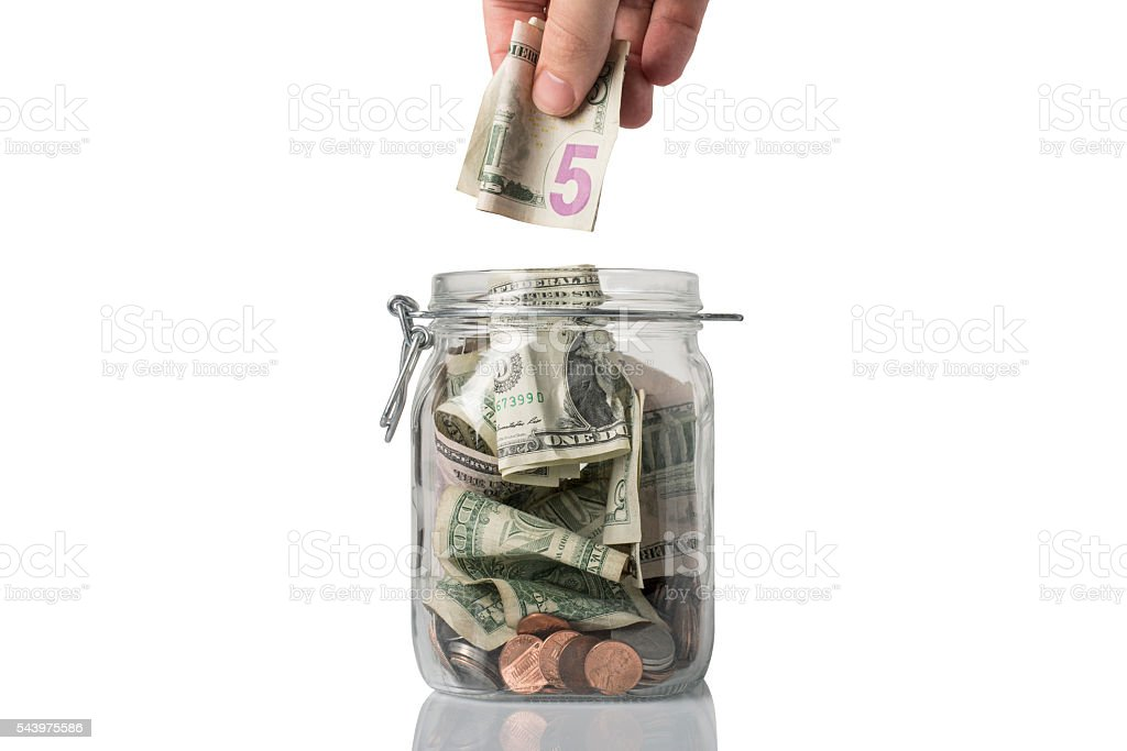 Getting a Tip stock photo