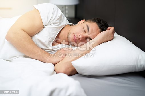 istock Getting all the sleep his body needs 638517892