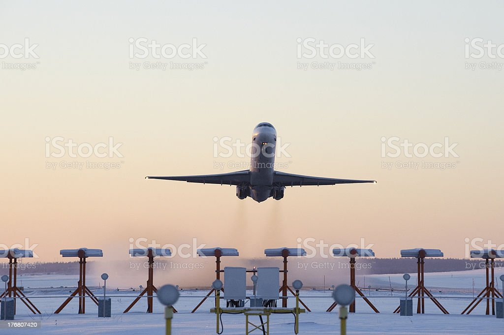 Getting away from it all. royalty-free stock photo