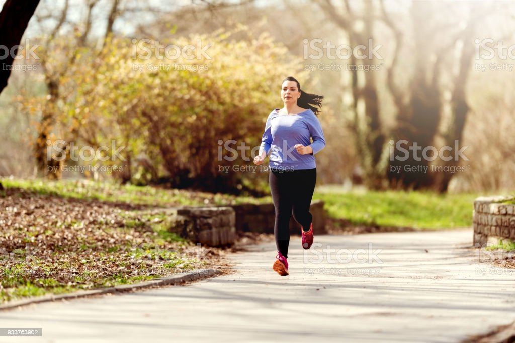 Getting back in shape stock photo