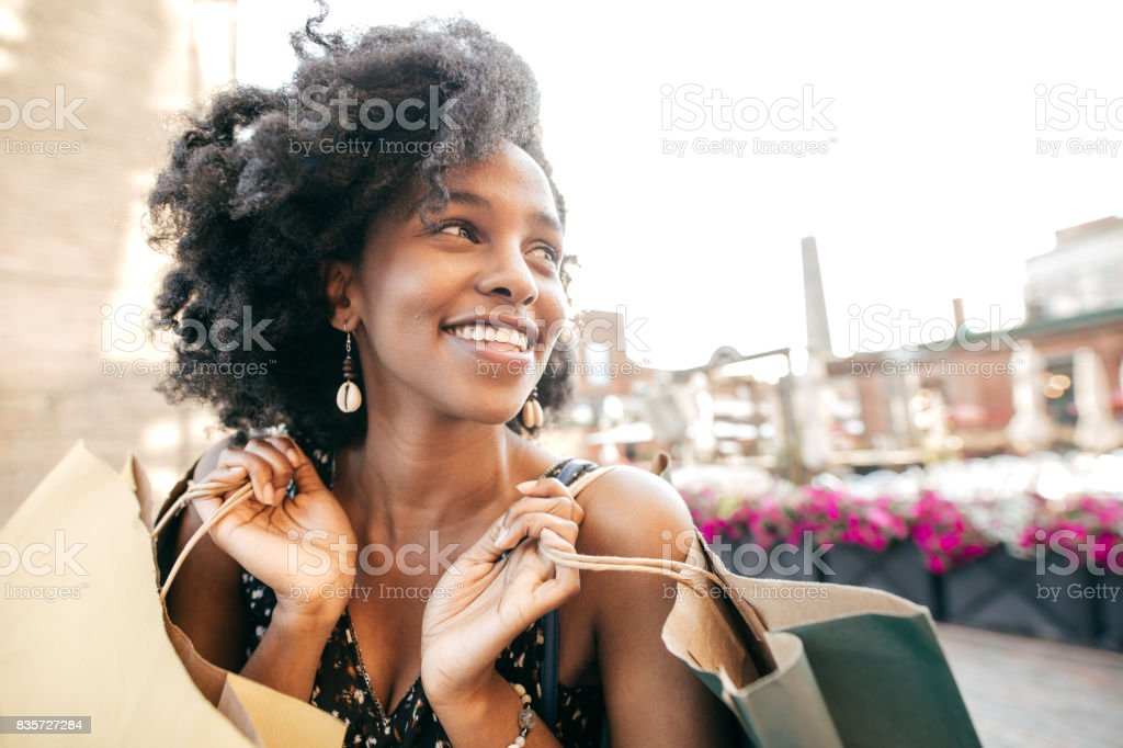 Getting best deal stock photo