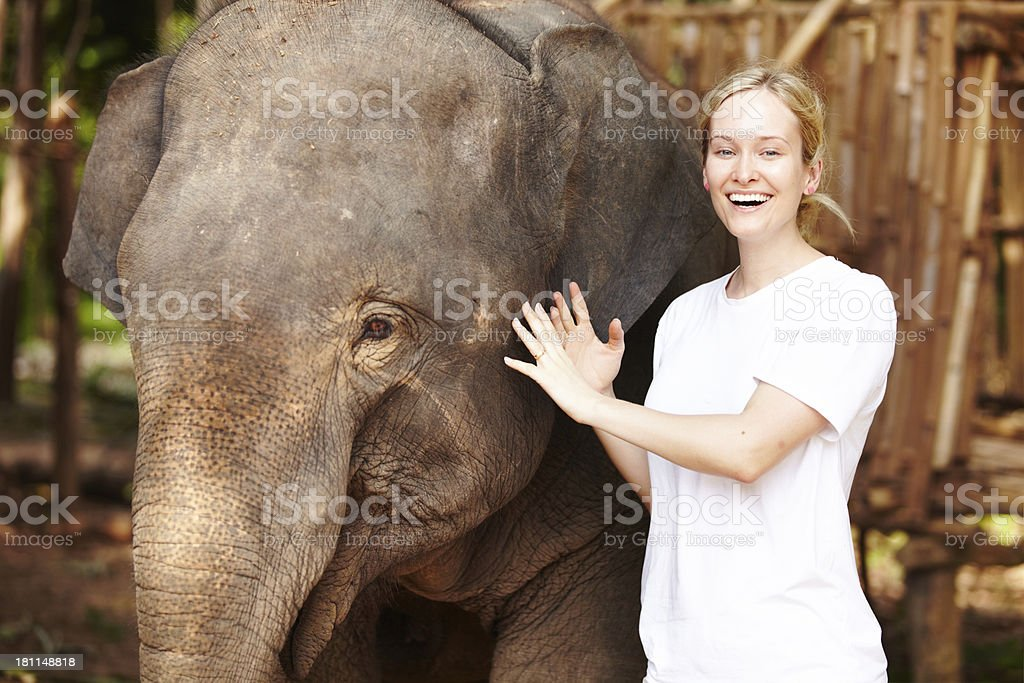 Getting close - Thailand royalty-free stock photo