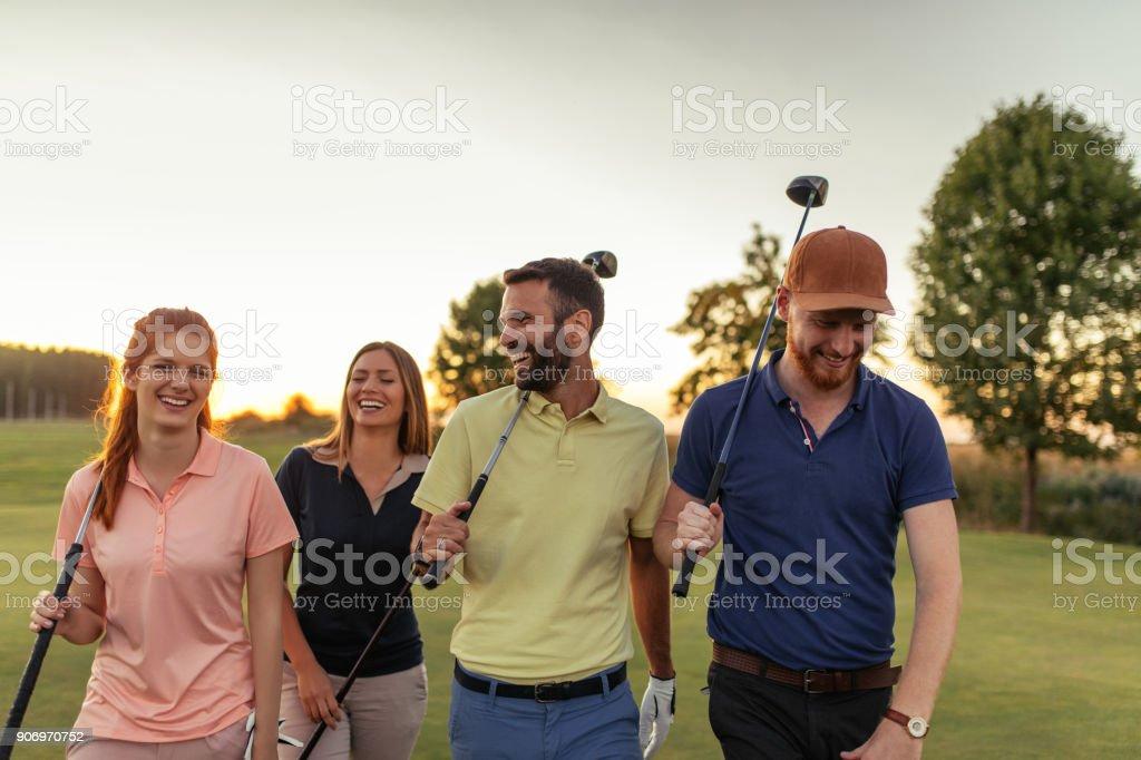 Näher kommen auf den Golfplatz – Foto