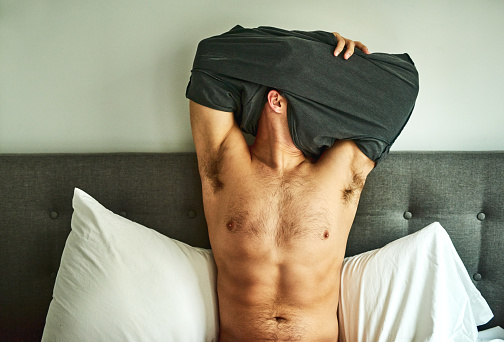 Getting Comfy For Bed Stock Photo - Download Image Now