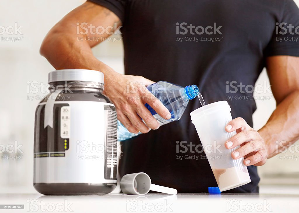 Getting enough protein in your diet? stock photo