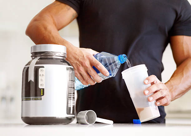 getting enough protein in your diet? - protein stock photos and pictures