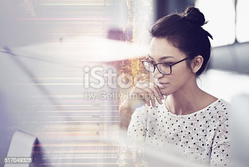 istock Getting focused on the project 517049328