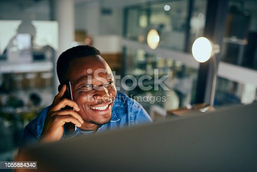 936117940 istock photo Getting in contact with my international clients 1055884340
