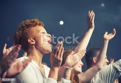 istock Getting in tune with the music 502061931
