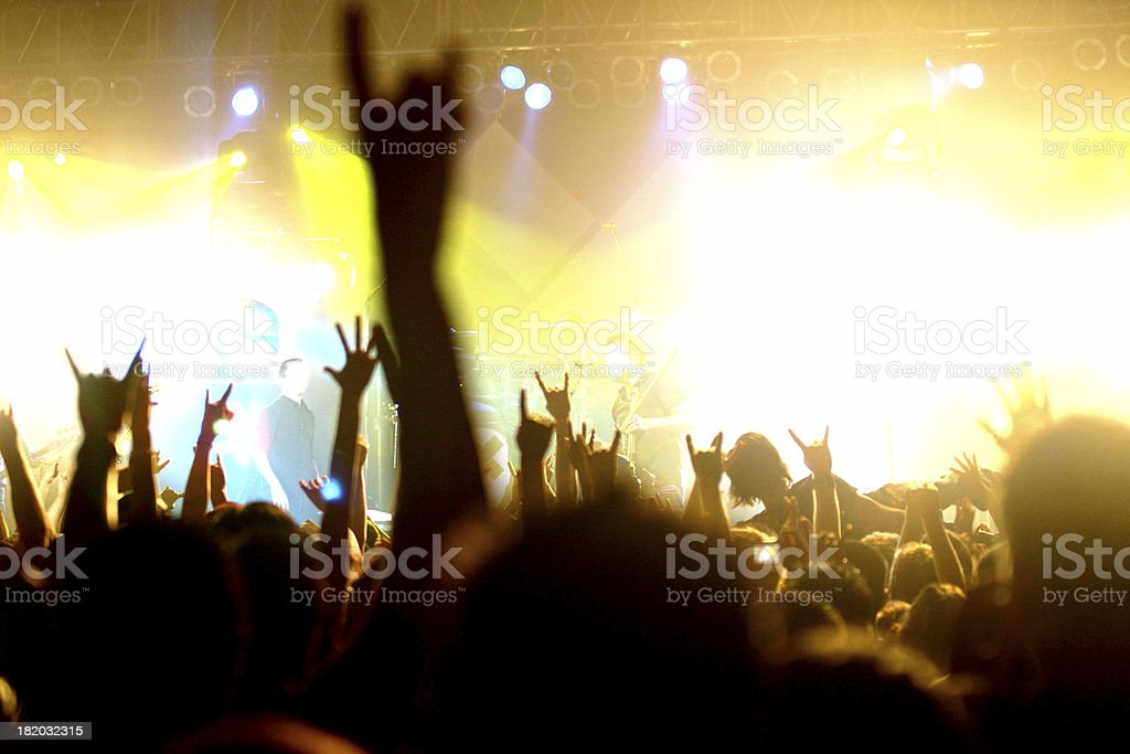 Getting into the music royalty-free stock photo