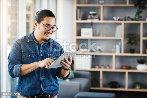 874813790 istock photo Getting it done the digital way 1061727294