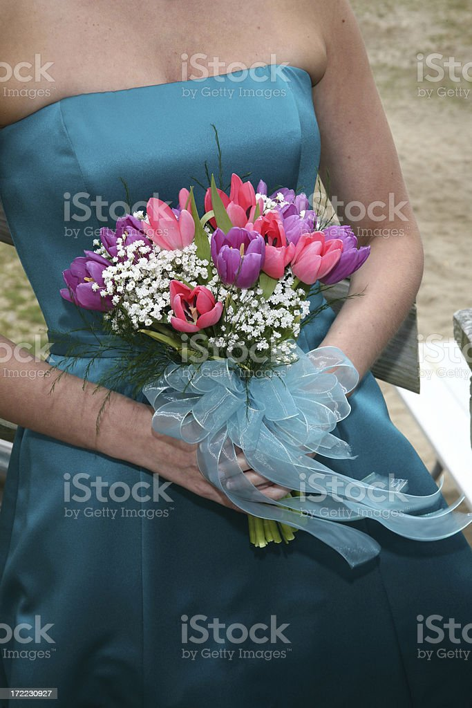 Getting Married royalty-free stock photo