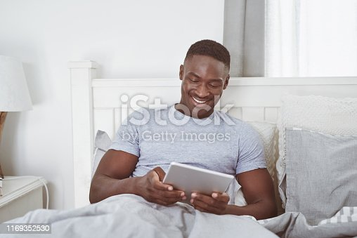 istock Getting my daily dose of social media 1169352530