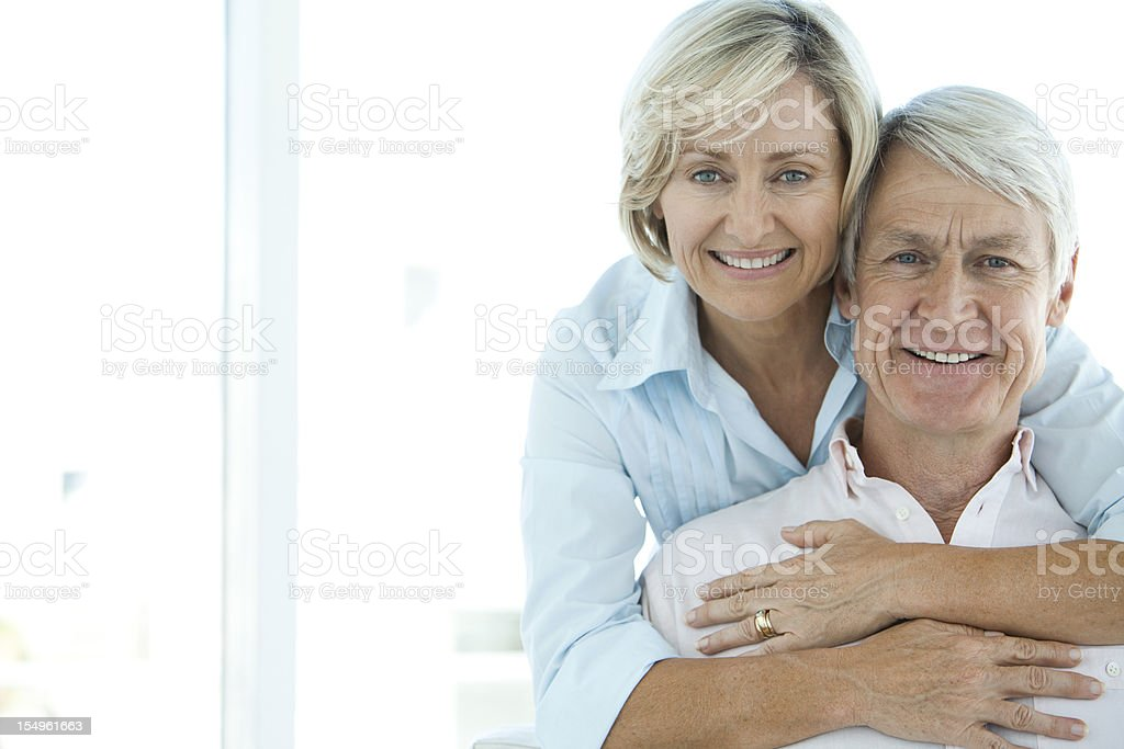 Getting old together royalty-free stock photo