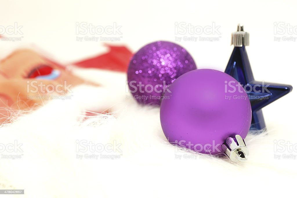 Getting ready for christmas royalty-free stock photo