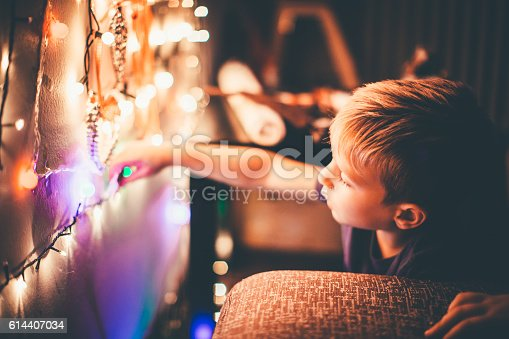 istock Getting ready for Christmas 614407034