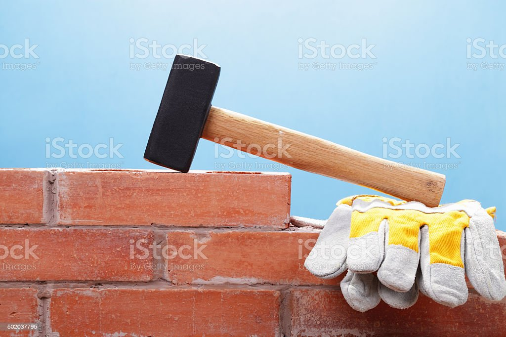 Getting Ready for Demolition royalty-free stock photo