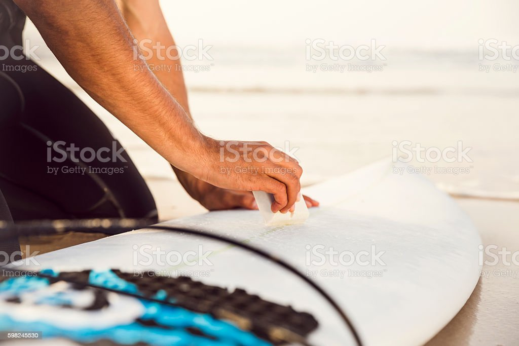 Getting ready for surf – Foto