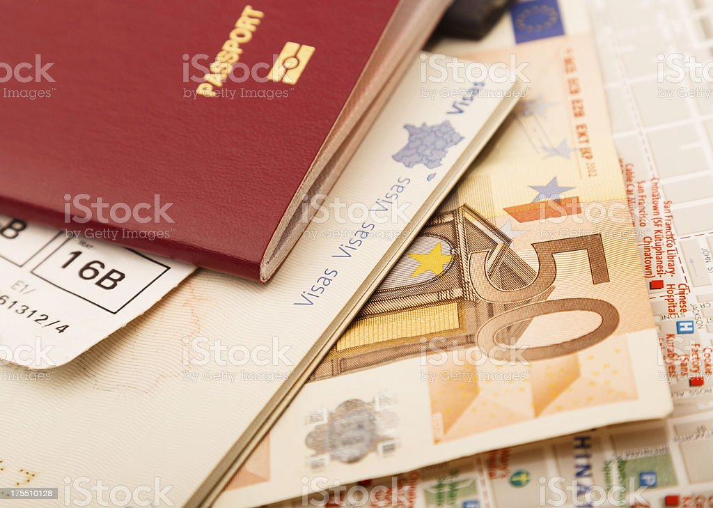 Getting Ready for Travel royalty-free stock photo