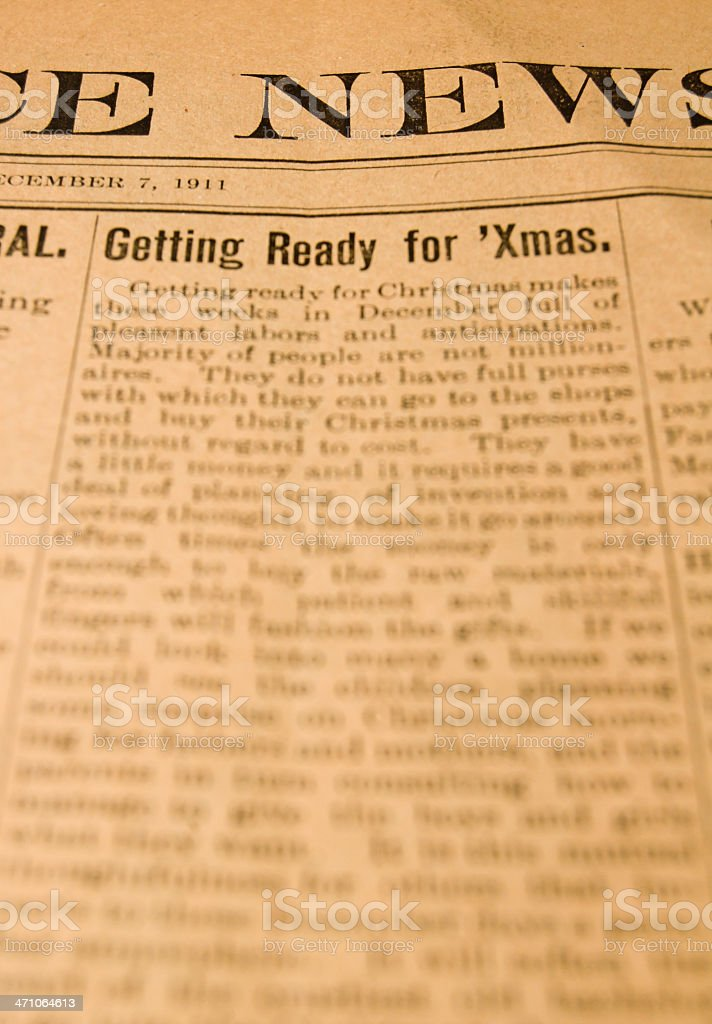 Getting Ready For 'Xmas royalty-free stock photo