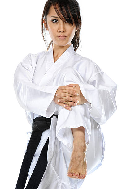 getting ready - martial arts gerville stock pictures, royalty-free photos & images